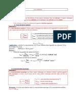 Chimie Préparations Solutions TP 1