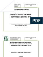 DX. SITUACIONAL DE CIRUGÍA.