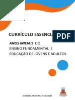 Currículo Essencial Fundamental Anos Iniciais Final