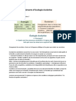 Elements D_écologie Évolutive