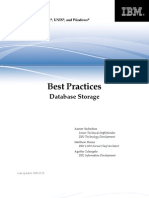 Best Practices - DB2 Storage