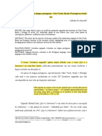 Artigo - Literatura engajada em língua portuguesa Cabo Verde, Brasil e Portugal no século XX