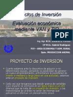 [PD] Presentaciones - VAN y TIR de Proyectos (1)