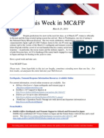 THIS WEEK IN MCFP March 25,  2011 (1)