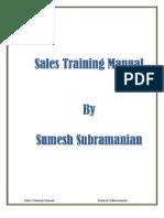 Sales Training Manual New