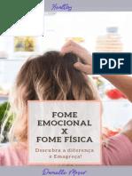 E-book Fome fisica X Fome Emocional