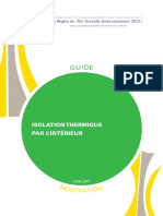 Guide Rage Isolation Thermique Interieur Reno
