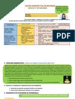 EVALUACION DIAGNOSTICA C y T 4° (1)