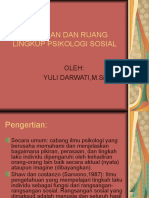 Pengertian Dan Ruang Lingkup Psikologi Sosial