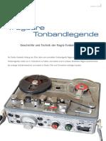 Geschichte Und Technik Der Nagra-Tonbandgeräte