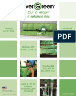 Ever Green® Cut n' Wrap™ Insulation Kits-Brochure