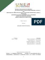 Analisis constitucion Ospino