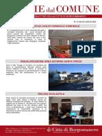 Notizie Dal Comune di Borgomanero del 23-07-2021