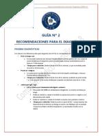 02 Guías y recomendaciones de acción terapéutica (COVID-19 GLB feb 2021) - Recomendaciones para el diagnóstico