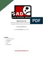 Stop Alcohol Deaths, Inc. Press Kit