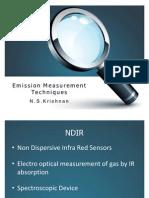 Emission Measurement Techniques and Standards