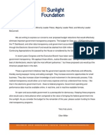 Electronic Government Fund Letter