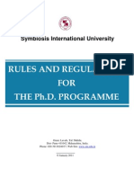 Revised PhD Rules_AY 2010-11