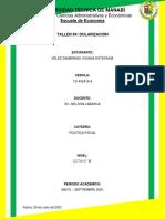 TALLER N°4. Dolarización. Viviana Vélez