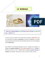 LE MARIAGE_partie 1