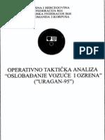 Armija BiH - Operacija Uragan 95 - Oslobadjanje Vozuce i Ozrena