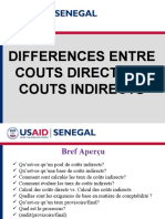 USAID Senegal Direct Versus Indirect Cost Rates French