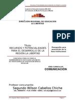 MONOGRAFIA POTENCIALIDADES DE LA REGIÓN LA LIBERTAD