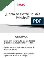 4.Estrategia,  Idea Principal (1)