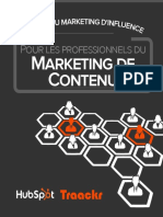 Traackr Content Marketers Guide Influencer Marketing French