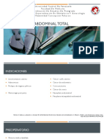 Histerectomia Abdominal Total