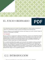 El Juicio Ordinario (1)