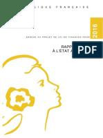 FR Rapport Relatif à l'Etat de l'Actionnaire 2016