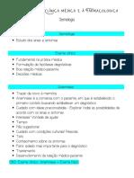 Introdução à clínica médica e à farmacologia - Semiologia - Aula 1