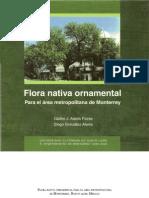 Flora nativa Ornamental para Mty. Glafiro Alanis