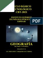 Origen Del Universo Cbt 2021 Geografia