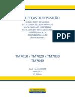 DESPIECE TM 7010 7020 7030 7040