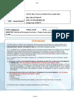 Caderno 1 Linguagens e Matemática Módulo III