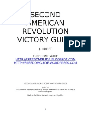 SECOND AMERICAN REVOLUTION VICTORY GUIDE 2 0 | Attention