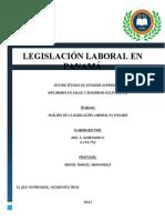 LEGISLACIÓN LABORAL EN PANAMA