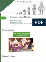 LP1_-_Aula11_-_Listas_de_Listas