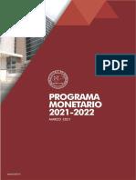 Programa Monetario 2021-2022