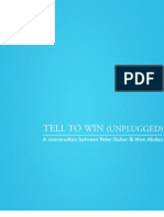 Peter Guber- Tell To Win (Unplugged)