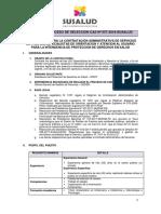 BASES DEL PROCESO DE SELECCIÓN CAS Nº 0571 (1)