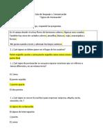 23 de Abril 3° Guía de Lenguaje y Comunicación