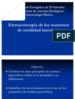 Terapia de La Movilidad Intestinal