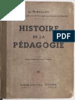 Histoire de La Pédaggie