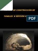MÉTODO DE CONSTRUCCIÓN DE tuneles a seccion completa