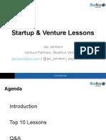 Startup Lessons V1