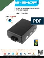 Mode d'emploi Traceur GPS CCTR-800