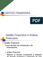 GESTÃO FINANCEIRA 2010